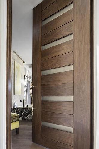 Entry-Door-Wood-Modern